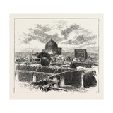 The Russian Expedition to Khiva, Views in the City: the Chief School in Khiva, Uzbekistan, 1873 Giclee Print