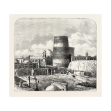 The Russian Expedition to Khiva, Views in the City: Temple of the Palace, Uzbekistan, 1873 Giclee Print