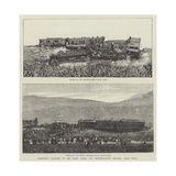 Disastrous Collision on the Paris, Lyons, and Mediterranean Railway, Near Dijon Giclee Print