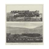 Disastrous Collision on the Paris, Lyons, and Mediterranean Railway, Near Dijon Giclee Print