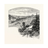 New Brunswick, Restigouche River, from Prospect Hill, Canada, Nineteenth Century Giclee Print