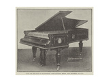 Piano for the Rajah of Kooch-Behar, Manufacturers, Messers John Brinsmead and Sons Giclee Print