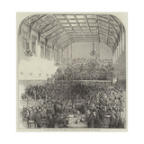 The Gorham Controversy, Great Meeting of Clergy and Laity, in St Martin's Hall, Long-Acre Giclee Print