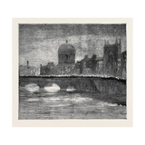 The Release of the Suspects: Torchlight Procession Crossing Grattan Bridge, Dublin, Ireland Giclee Print