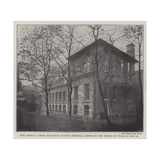 New Medical School Buildings at Guy's Hospital, Opened by the Prince of Wales on 26 May Giclee Print