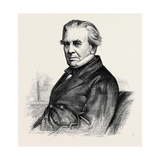C.B. Vignoles, F.R.S., President of the Institution of Civil Engineers , 1870 Giclee Print