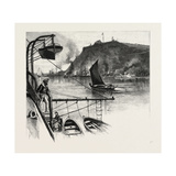 Quebec, the Citadel, from H.M.S. Northampton, Canada, Nineteenth Century Giclee Print