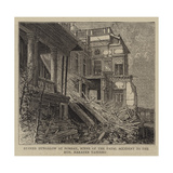 Ruined Bungalow at Bombay, Scene of the Fatal Accident to the Honourable Narayen Vasudeo Giclee Print