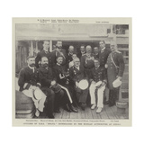 Officers of HMS Melita Entertained by the Russian Authorities at Odessa Giclee Print