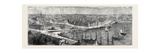 The Royal Silver Wedding at Stockholm, Views of the City: Panoramic View of the City Giclee Print