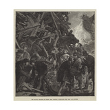 The Railway Disaster at Thorpe, Near Norwich, Extricating the Dead and Wounded Giclee Print