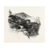 Rougemont and Valley, South Eastern Quebec, Canada, Nineteenth Century Giclee Print
