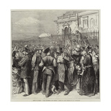 Siege of Paris, C'Est Valerien Qui Donne! Scene on the Terrace of St Germains Giclee Print