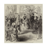 Princess Louisa Opening the Bazaar for the North-Eastern Hospital for Children Giclee Print