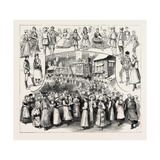 The International Peasant Festival at the Royal Albert Hall in Aid of the Funds of the West End Hos Giclee Print
