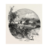 Quebec, View from the Old Manor House at Beauport, Canada, Nineteenth Century Giclee Print