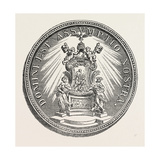 Medal of Pope Alexander Viii, Whose Pontificate Lasted from 1689 to 1691, 1851 Giclee Print