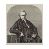 The Reverend S D Waddy, President of the Wesleyan Methodist Conference of 1859 Giclee Print