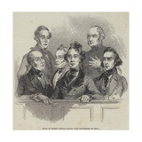 Dublin State Trials, Court of Queen's Bench, Dublin, the Traversers on Trial Giclee Print