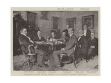 President Mckinley and His Cabinet at the Executive Mansion, Washington Giclee Print