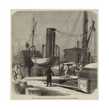 Seizure of Casks, with Arms and Ammunition, on Board the Dublin Steamer Windsor Giclee Print
