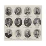 Colonial Premiers and their Wives in England for the Queen's Diamond Jubilee Giclee Print