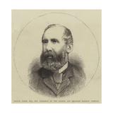 Samuel Laing, Esquire, Mp, Chairman of the London and Brighton Railway Company Giclee Print