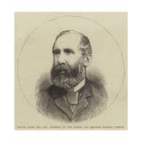 Samuel Laing, Esquire, Mp, Chairman of the London and Brighton Railway Company Giclee Print