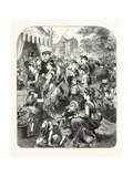 Oxford Commemoration: the Flower Show in the Grounds of St. John's College, 1876, Uk Giclee Print