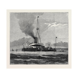 H.M.S. Devastation, Stern View, Showing the Cul-De-Sac Formed by Her Upper Deck Giclee Print