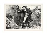 Washington at the Siege of Yorktown, American Revolutionary War, USA, 1870S Giclee Print