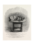 Bible Brought over in the Mayflower, in Pilgrim Hall, New Plymouth, USA, 1870S Giclee Print