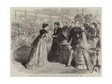 Princess Mary of Teck Distributing the Prizes of the Royal Botanic Society, Regent's Park Giclee Print
