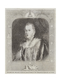 The Right Honourable the Earl of Zetland, Grand Master of the Freemasons of England and Wales Giclee Print