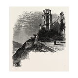 The Terrace, Heidelberg Castle, the Rhine, Germany, 19th Century Giclee Print