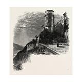 The Terrace, Heidelberg Castle, the Rhine, Germany, 19th Century Giclee Print