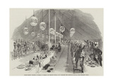 Grand Masonic Banquet, at Rugby, to General Sir Charles Napier, Gcb, Drinking the General's Health Giclee Print