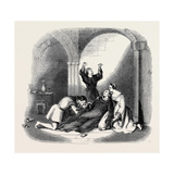 Scene from the New Play of The Priest's Daughter, at Sadler's Wells Theatre Giclee Print