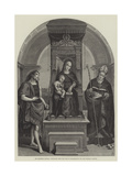 The Blenheim Raphael, Purchased from the Duke of Marlborough for the National Gallery Giclee Print