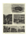 Scenes in the Towns and Districts Recently Devastated by the Earthquake in Japan Giclee Print
