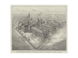 The New Royal Infirmary, Liverpool, Opened by the Duke of Clarence, 29 October Giclee Print