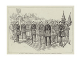 The Duke of Clarence Installed at Reading as Provincial Grand Master of Berkshire Freemasons Giclee Print