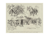 Robinson Crusoe at Drury Lane, Scenes from The History of England in Twenty Minutes Giclee Print