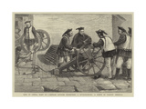 Life in China, Part Xv, Chinese Officer Inspecting a Mitrailleuse, a Scene in Nankin Arsenal Giclee Print