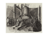 Experiment with the Hammer Upon the Great Bell for the Westminster Clock Giclee Print