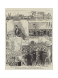 The Trial of Guiteau at Washington for the Murder of President Garfield Giclee Print