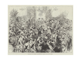 The Royal Visit to Ireland, State Ball at St Patrick's Hall, Dublin Castle Giclee Print
