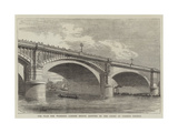 The Plan for Widening London Bridge Adopted by the Court of Common Council Giclee Print