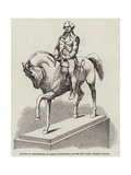 Statue of Washington, by Baron Marochetti, in the New York Crystal Palace Giclee Print