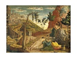 Agony in Garden by Andrea Mantegna (1431-1506), Tempera on Wood, 71X94 Cm, 1457-1459 Giclee Print